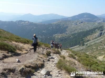 Travesía por la Sierra de la Maliciosa - Senderismo Madrid; senderismo y acampada